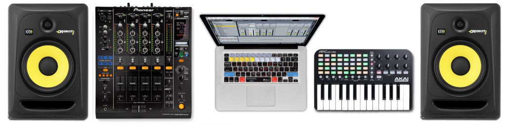 SET UP BIG ABLETON